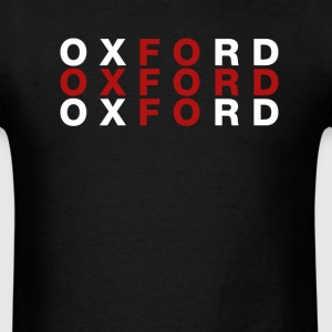 Oxford United Kingdom Flag Shirt - Oxford T-Shirt - Men's T-Shirt