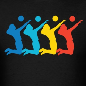 Retro Volleyball Pop Art - Men's T-Shirt