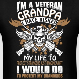 I'm A Veteran Grandpa T Shirt - Men's T-Shirt