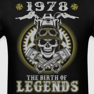 1978 The Birth Of Legends - Men's T-Shirt