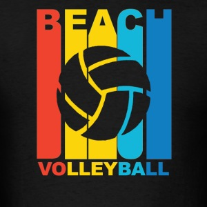 Vintage Beach Volleyball Graphic - Men's T-Shirt