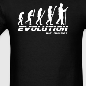 Evolution ice hockey player - Men's T-Shirt
