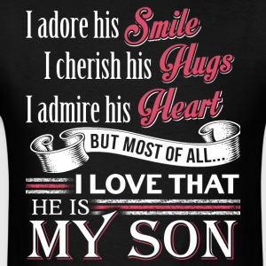 He Is My Son T Shirt - Men's T-Shirt