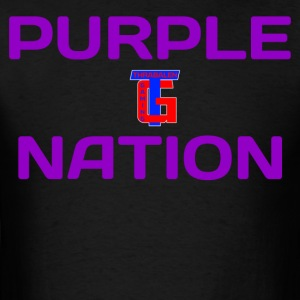 Purple Nation - Men's T-Shirt