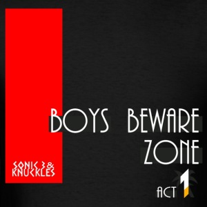 Boys Beware - FAST - Men's T-Shirt