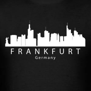 Frankfurt Germany Skyline - Men's T-Shirt
