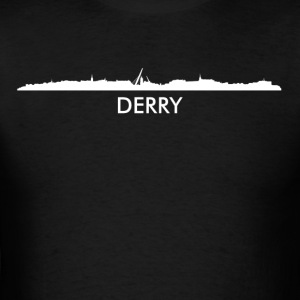 Derry Northern Ireland Skyline - Men's T-Shirt