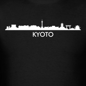 Kyoto Japan Skyline - Men's T-Shirt
