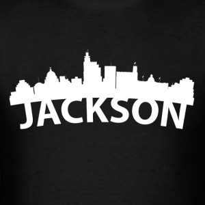 Arc Skyline Of Jackson MS - Men's T-Shirt