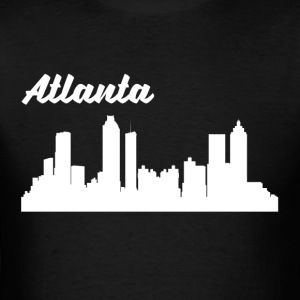 Atlanta GA Skyline - Men's T-Shirt