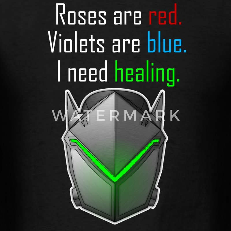 Genji I need healing - Men's T-Shirt