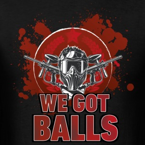 Paintball Balls dots - Men's T-Shirt