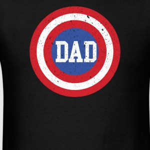 Super Dad T-Shirt Funny Superhero Father's Day Tee - Men's T-Shirt
