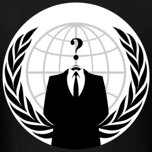 Anonymous Hacker - Men's T-Shirt