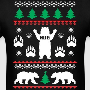 Bear Hug Festive - Men's T-Shirt