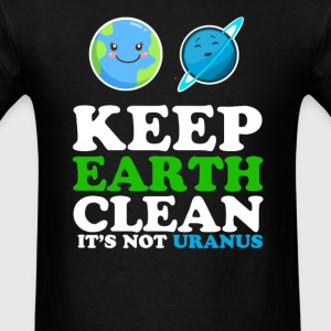 Earth day funny - Men's T-Shirt