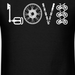 Love Cycling T Shirt - Men's T-Shirt