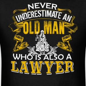 Old Man Lawyer Shirt - Men's T-Shirt