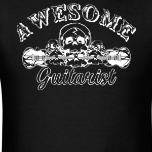 Awesome Guitarist Shirt - Men's T-Shirt