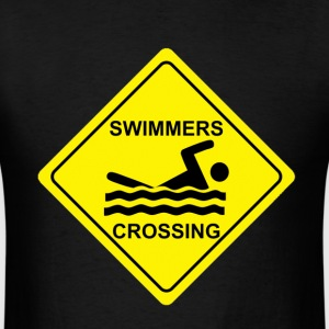 Swimmers Crossing - Men's T-Shirt