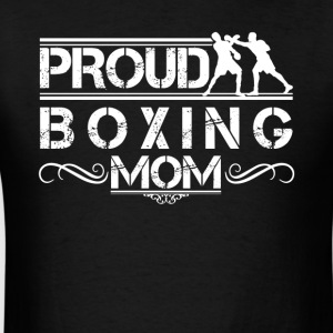Proud Boxing Mom Shirt - Men's T-Shirt