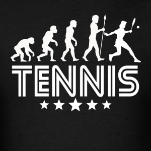 Retro Tennis Evolution - Men's T-Shirt