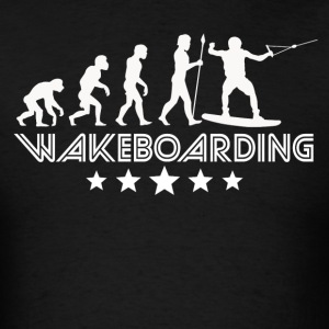 Retro Wakeboarding Evolution - Men's T-Shirt