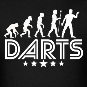 Retro Darts Evolution - Men's T-Shirt