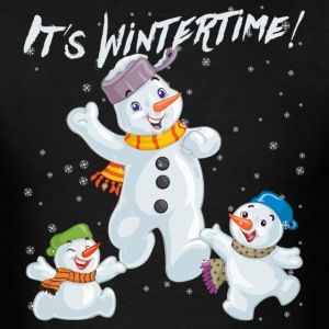 It´s Wintertime - Men's T-Shirt