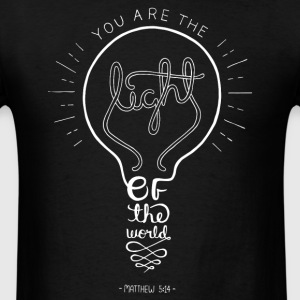 Matthew 5:14 - Men's T-Shirt