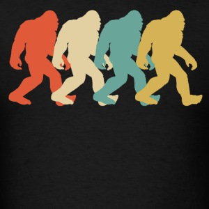 Retro Bigfoot Pop Art - Men's T-Shirt