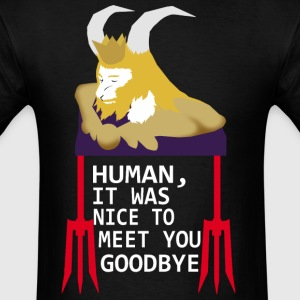 Goodbye human - Men's T-Shirt