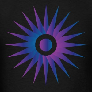 Hot Purple Sun - Men's T-Shirt