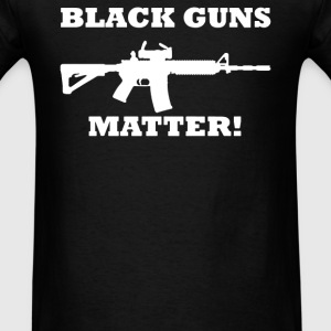 Details about Black Guns Matter - Men's T-Shirt