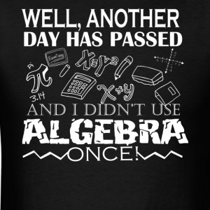 Algebra Shirt - Men's T-Shirt