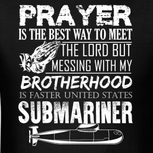 Submariner Prayer Shirt - Men's T-Shirt