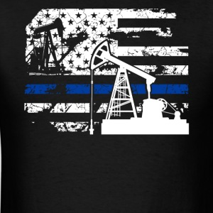 Oilfield Flag Shirt - Men's T-Shirt