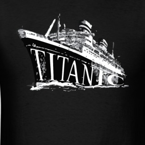 Titanic Historical Graphic Tee Shirt - Men's T-Shirt