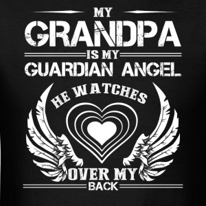 My Grandpa Is My Guardian Angel Shirt - Men's T-Shirt