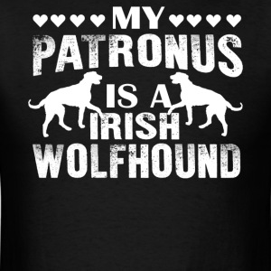 My Patronus Is A Irish Wolfhound Shirts - Men's T-Shirt