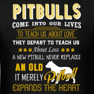 Pitbull Tee Shirt - Men's T-Shirt
