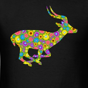 Antelope Flower Tee Shirt - Men's T-Shirt