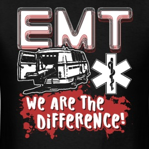 EMT WE ARE THE DIFFERENCE SHIRT - Men's T-Shirt