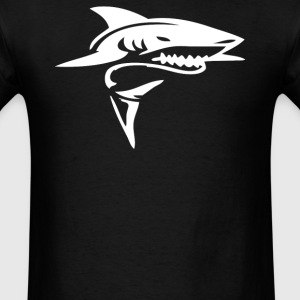 Tribal Shark Tattoo - Men's T-Shirt