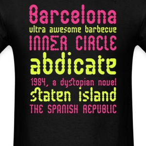 Barcelona ultra awesome barbecue - Men's T-Shirt