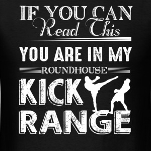 Roundhouse Kick Range Shirt - Men's T-Shirt