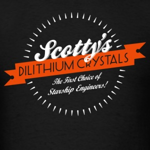 Scotty s Dilithium Crystals Enterprise - Men's T-Shirt