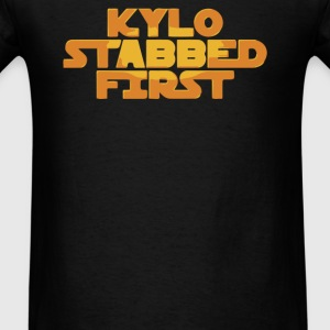 Kylo Stabbed First - Men's T-Shirt
