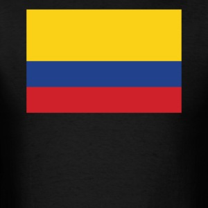 Flag of Colombia Cool Colombian Flag - Men's T-Shirt