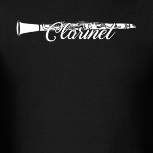 Clarinet Tshirt - Men's T-Shirt